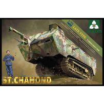 French Heavy Tank St. Chamond Late Type 1/35