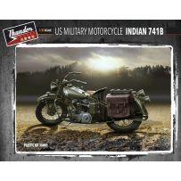 Thundermodel 35003 : US Military Motorcycle Indian 741B 1/35