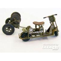 Scooter américain avec dévidoir WWII 1/35