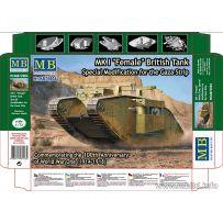 MK I Female British Tank Special 1/72