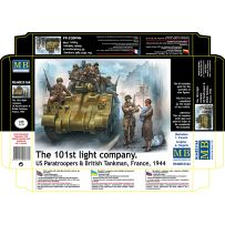 The 101st Light Company France 1944 1/35
