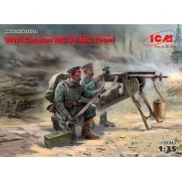 WWI German MG08 MG Team (2 figures) 1/35