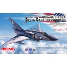 Convair F-106A Delta Dart Interceptor 1/72