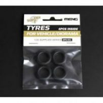 Tyres for Vehicle/Diorama (4pcs) 1/35