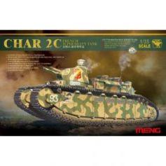 French super heavy tank Char 2C 1/35