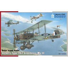 Vickers Vildebeest Mk. III 1/72