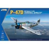 P-47D Thunderbolt Bubble Top 1/24