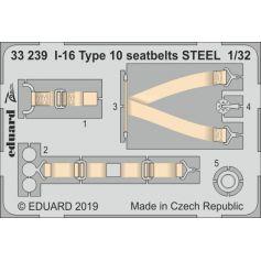 I-16 Type 10 seatbelts Steel 1/32