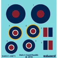 Eduard D48031 Tempest roundels early 1/48