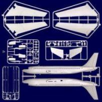 Boeing 720 Ceasar's Chariot 1/144