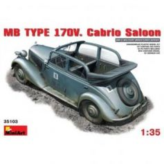 MB type 170V. Berline Cabriolet 1/35