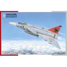 JA-37 Viggen Fighter 1/72