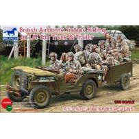 Bronco Models 35169 British Airborne Troops Riding In 1/4Ton Truck 1/35