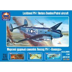Ark Model 72005 - Lockheed PV-1 Ventura American bomber / patrol aircraft 1/72