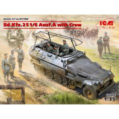 Sd.Kfz.251/6 Ausf.A with Crew 1/35