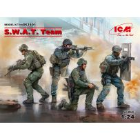 S.W.A.T. Team (4 figures) 1/24