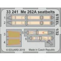 Me 262A seatbelts Steel 1/32