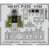 Eduard 144011 P-51D 1/144