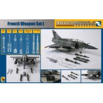 Skunkmodel Workshop 48008 FRENCH WEAPON SET 1/48