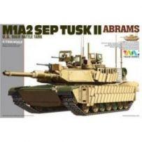 Tiger Model 9601 - U.S. Main Battle Tank M1A2 SEP TUSK II 1/72