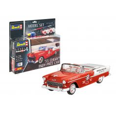 Model Set 55 Chevy Indy Pace Car 1/25