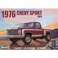 Chevy Sports Stepside Pickup 1976 1/25