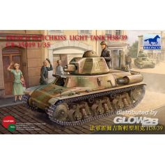 French H38/39 Light tank ( 2 versions) 1/35