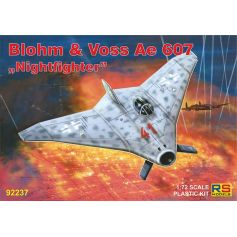 Blohm and Voss Ae 607 Nightfighter 1/72
