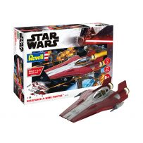 Resistance A-wing Fighter red 1/44