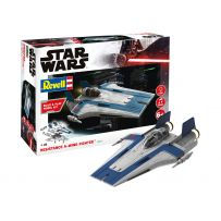 Resistance A-wing Fighter blue 1/44