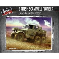 British Scammell Pioneer SV/2S Recovery Tractor 1/35