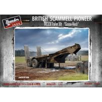 Scammell Late Goose Neck Trailer 1/35