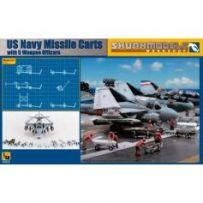 USN Missile Cart + Figures 1/48