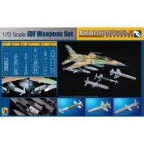 Skunkmodels SW-72001 - Workshop: IDF WEAPON SET (AN/AXQ-14, Delilah, Python) 1/72