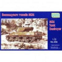 M36 tank destroyer 1/72
