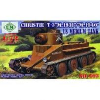 Christie T-3 M.1931/M.1940 1/72