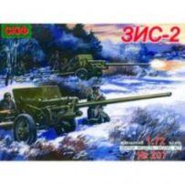 Gun ZIS-2 57mm Antitank gun 1/72