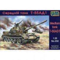 Tank T-55AD1 1/35