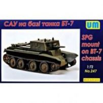 SPG based on the BT-7 chassis 1/72