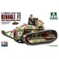 Renault char Canon 1/16
