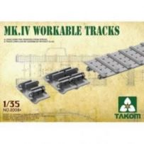 Mk IV Cement Free Workable Tracks 1/35