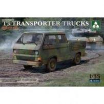 Bundeswehr T3 Transporter Trucks 1/35