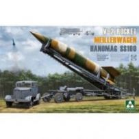 V-2 Rocket + Hanomag SS100 1/35
