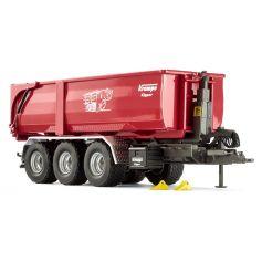 Krampe Tridem THL 30 L hook lift with Big Body 750 1/32