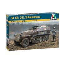 Sd.Kfz.251/8 Ambulance 1/72