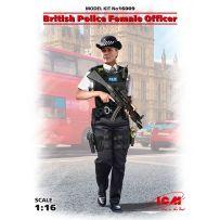 British Police Female Officer 1/16