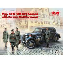 Typ 320 (W142) Saloon with German Staff Personnel 1/35