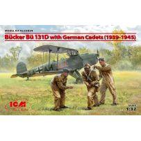 Bucker Bu 131D with German Cadets (1939-1945) 1/32