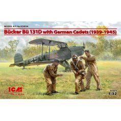 Bücker Bü 131D with German Cadets 1939-1945 1/32
