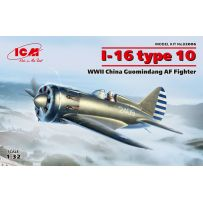 I-16 type 10, WWII China Guomindang AF Fighter 1/32